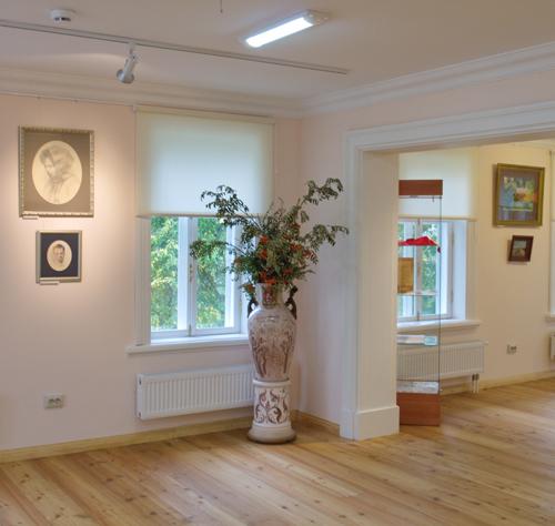 Экспозиция Московского областного музея народных художественных промыслов