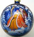 Роспись новогодних шаров - Fedoskinotoday.com