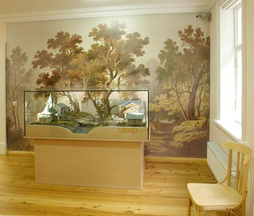 Зал Московского областного музея народных художественных промыслов
