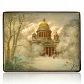 Исакиевский собор зимой