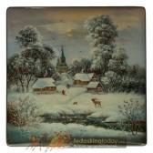 В деревне зимой