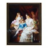 Портрет с детьми (панно)